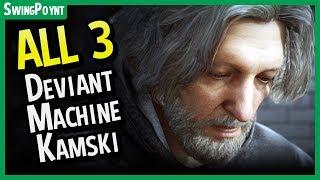 Detroit Become Human - ALL 3 Hank Suicide Endings - Machine Vs Deviant Vs Kamski (Hostile Hank)