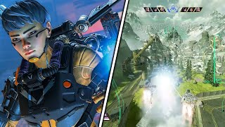 INSANELY CLOSE VALKYRIE ARENA GAME! APEX LEGENDS SEASON 9 FOOTAGE! | Albralelie