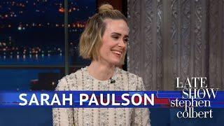 Sarah Paulson Hasn't Seen 'Bird Box' Yet