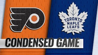 03/15/19 Condensed Game: Flyers @ Maple Leafs