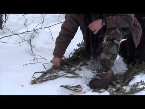 Anleitung: Schneeschuhe selbst bauen