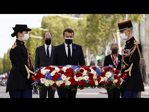 Military and political leaders mark 76 years since Victory in Europe Day