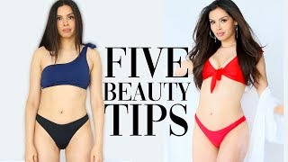 5 BEAUTY TIPS NO ONE TOLD YOU