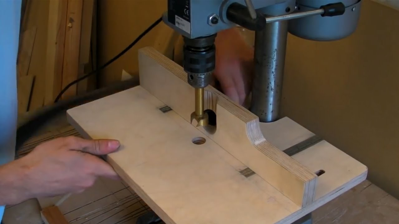 Building A Pillar Drill Drill Press Table Adjustable