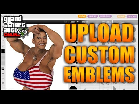 GTA 5 Online: Upload Crew Emblems To GTA Online After Patch 1.13 - GTA 5 Crew Emblem Glitch