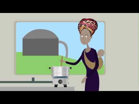 Impact of biogas: cleaner energy