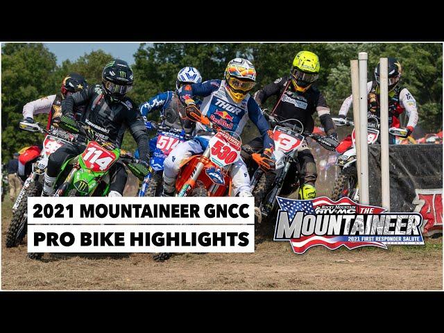 Résumé GNCC USA 2021 - RD10 - Mountaineer