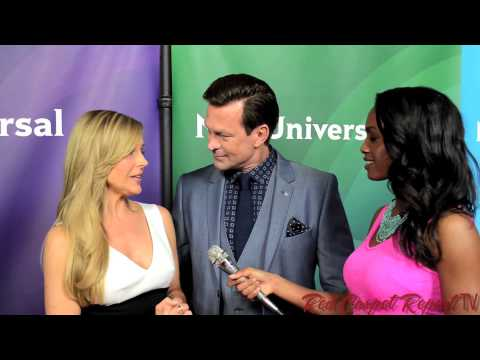 Julie Benz & Grant Bowler #Defiance at the 2014 NBCUni Summer ...
