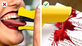Prank Wars! 10 Funny Back to School Pranks and Other School Hacks