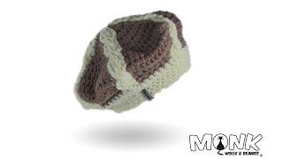 Mütze Häkeln Basken Beanie Mit Zopfmuster Häkeln Teil 1 Youtube