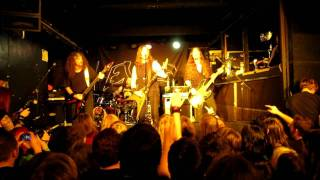 "Evile ""Five Serpent's Teeth"" LIVE in Sheffield, England OCT 28, 2011"