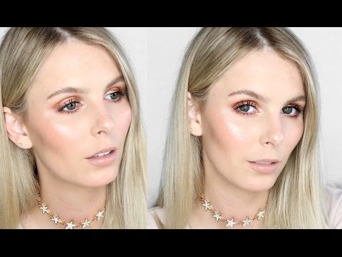 BRONZED GLOSSY EYE | 2017 MAKE UP TREND | RACHAEL BROOK