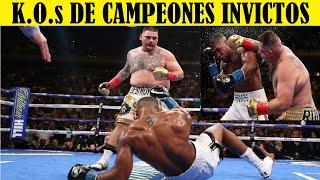 Top 10 Palizas Dadas A Campeones Invictos - PARTE 2