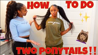 GIVING MY DAUGHTER A NEW HAIRSTYLE!!