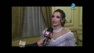 عرب وود l أول ظهور للفنانة quotكارمن سليمانquot بعد الإنجاب ولقاء خاص معها ...