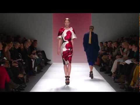 Fall 2012 Collection by Bibhu Mohapatra @ Lincoln Center New York
