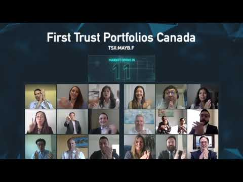 TMX Group congratulates First Trust Portfolios Canada on the launch of ETF listing: TSX: MAYB.F