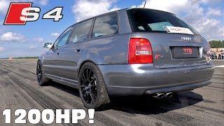 1200HP Audi S4 B5 Bi Turbo – FAST ACCELERATIONS!
