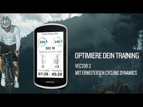 "Garmin Vector™ 3/3S – Das ""Plug & Play"" Wattmess-Pedalsystem"