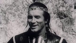 Ukážka z natáčania Vinnetua (1965)