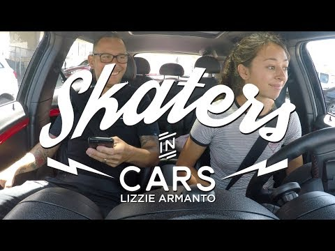 Skaters In Cars: Lizzie Armanto | X Games