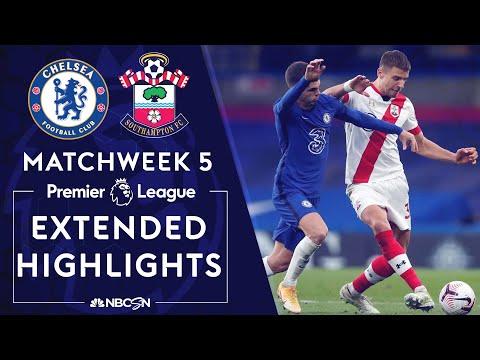 Chelsea v. Southampton | PREMIER LEAGUE HIGHLIGHTS | 10/17/2020 | NBC Sports