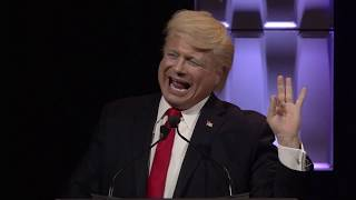 Hilarious Donald Trump Impersonator John Di Domenico in front of a live audience