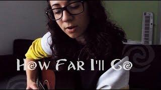 How Far I'll Go Cover - Alessia Cara / Auli'i Cravalho (by Amy Kalea)