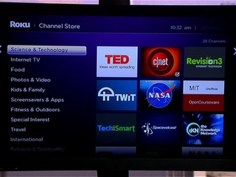 CNET How To - Add private channels to Roku - YouTube
