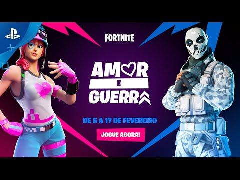 Fortnite - Amor e Guerra | PS4