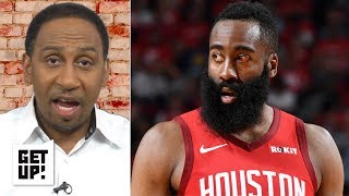 I still don't see the Rockets winning the series vs. the Warriors - Stephen A.   Get Up!
