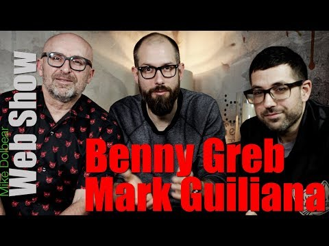Mike Dolbear Web Show Series 3 Episode 2 - Benny Greb & Mark Guiliana