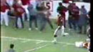Keith Jackson 88-yard run vs. NU in 1985