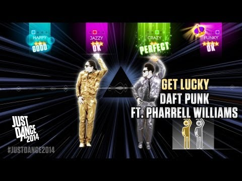 Baixar Daft Punk ft. Pharrell Williams - Get Lucky   Just Dance 2014   Gameplay