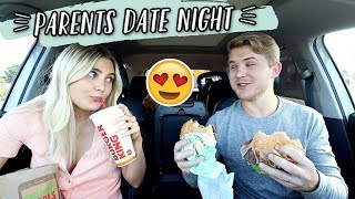 FIRST DATE NIGHT WITHOUT OUR BABY!!