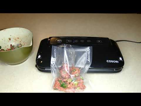 COSORI Vacuum Sealer Review