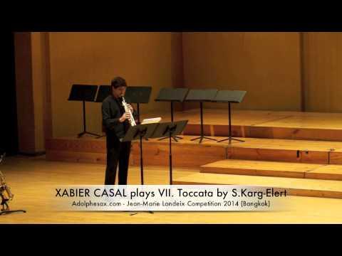 XABIER CASAL plays VII Toccata by S Karg Elert