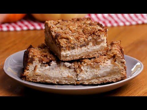 Apple Pie Spice Cheesecake Bars