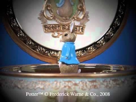 Peter Rabbit Trinket Box