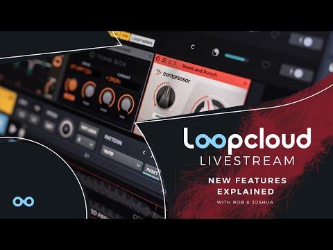 Loopcloud 6 Stream | Watch & WIN w/ Joshua Casper & Rob Jones