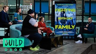 """WWE Superstar Paige Bevis & The Cast Of """"Fighting With My Family"""" Talk The Film"""