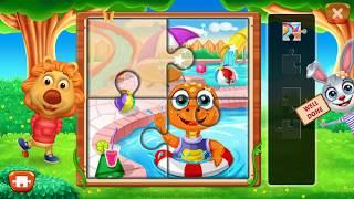 Shiva Little Singham Motu Patlu Animals Wrong Head #5~Puzzle Kids-Animals Shapes and Jigsaw Puzzles