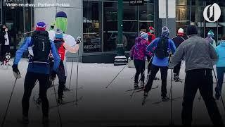 Portland's impromptu ski race is back: the Stumptown Birkebeiner