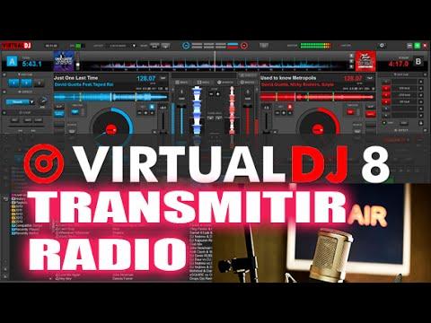 TRANSMITIR RADIO EN INTERNET CON VIRTUAL DJ 8 USANDO LISTEN2MYRADIO COM