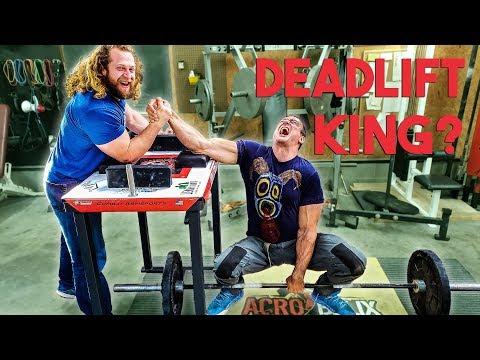 Can Devon Larratt Deadlift? Powerlifting vs Arm Wrestling
