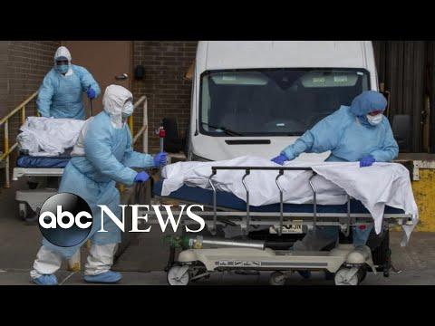 US coronavirus death toll nears 200,000