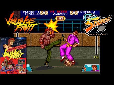 """VIOLENCE FIGHT (BEN SMITH)  - """"CON 5 DUROS"""" Episodio 893 (Deadly Moves / SNES) (1cc)"""