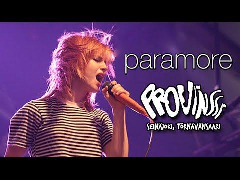 Paramore - Provinssirock Festival, Finland 2008 (Full TV Broadcast)