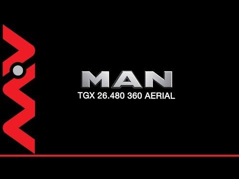 2016 MAN TGX 26 480 360 Aerial