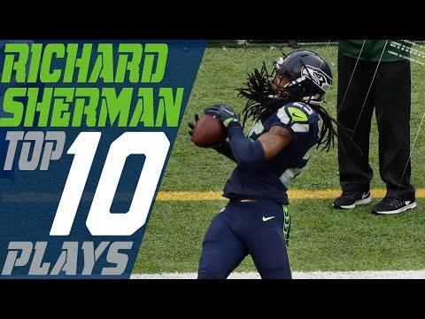 Richard Sherman's Top 10 Plays of the 2016 Season | NFL Highlights